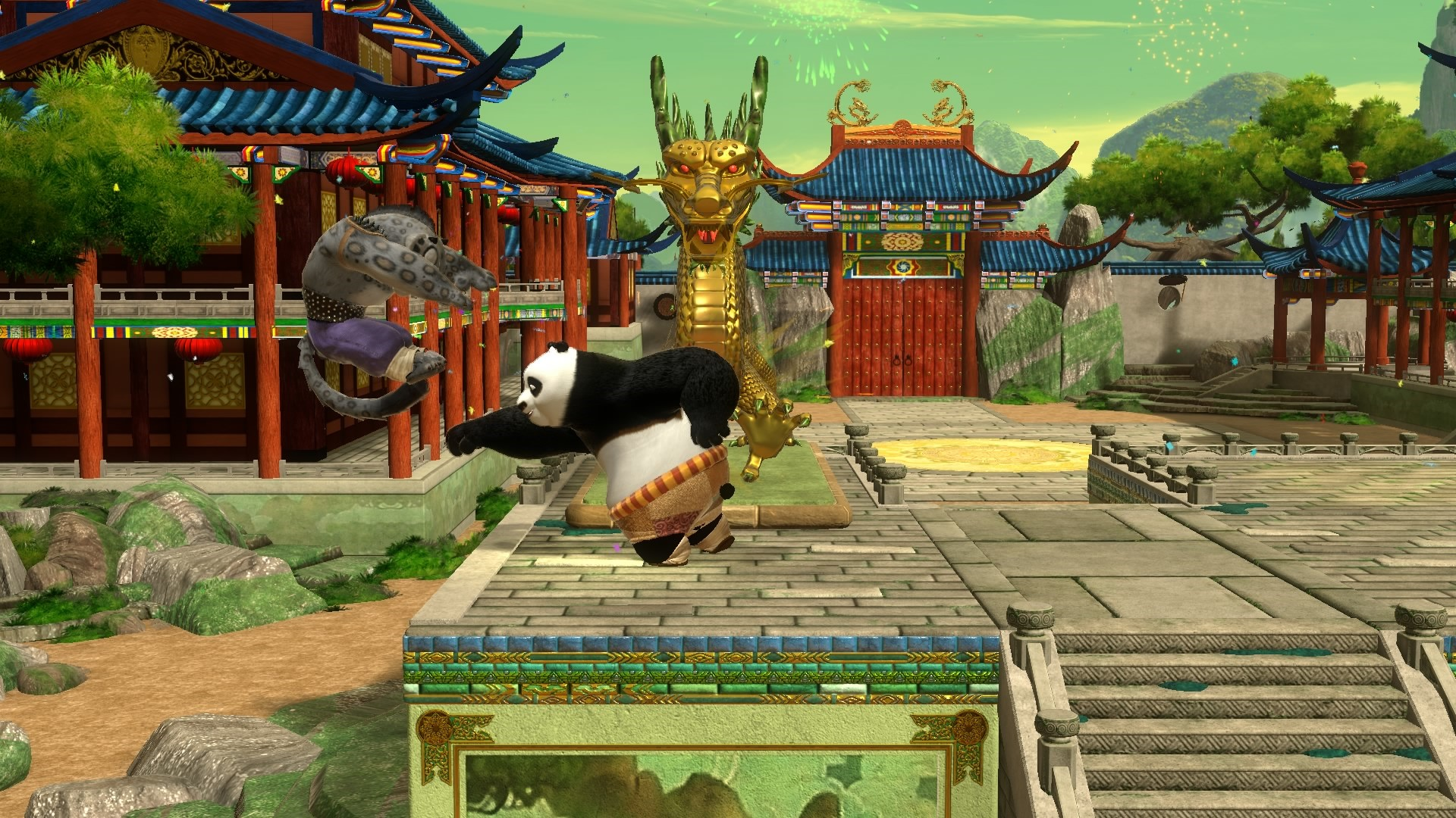 Kung Fu Panda  Showdown of Legendary Legends will be fist-pumping it s way  onto PS4. Xbox One 0a6f3990e